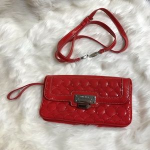 Nine West Red Wristlet/Clutch